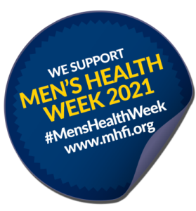 Men's Health Week support badge